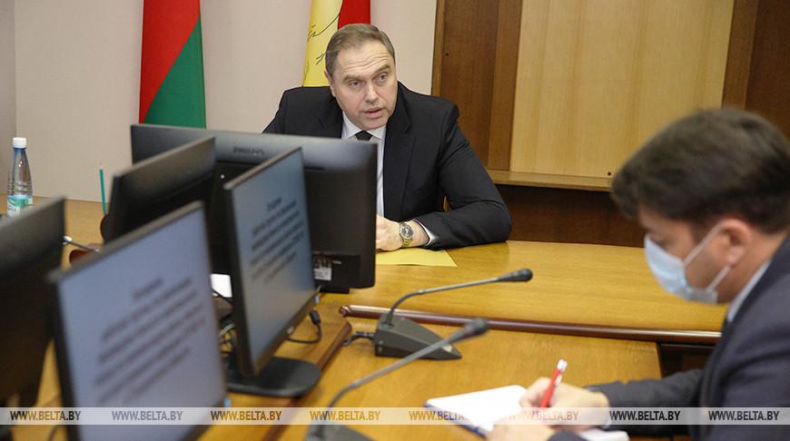 Заседание по реализации плана по минимизации риска завоза и распространения COVID-19 прошло в Гродно