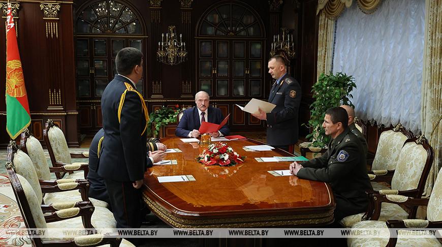 Лукашенко произвел перестановки в руководстве МВД