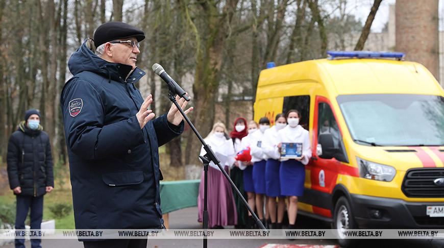 В деревне Сосновка Витебского района состоялся торжественный пуск природного газа