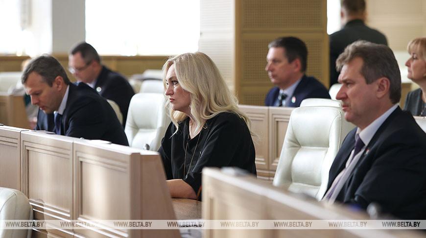 В Совете Республики состоялось заседание четвертой сессии Национального собрания седьмого созыва