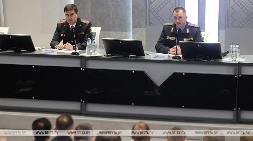 Кубраков представил коллективу нового начальника УВД Витебского облисполкома