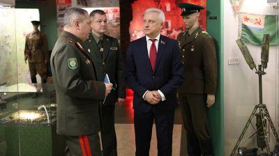 Сергей Рачков посетил Институт погранслужбы