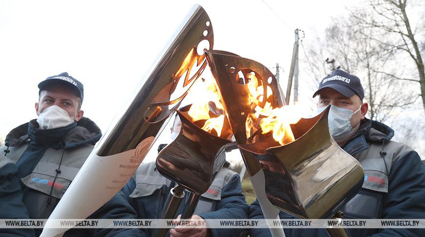 В агрогородок Холмы Краснопольского района провели газ