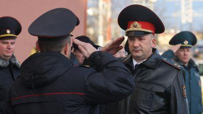 Новое здание Октябрьского РОВД открыто в Витебске