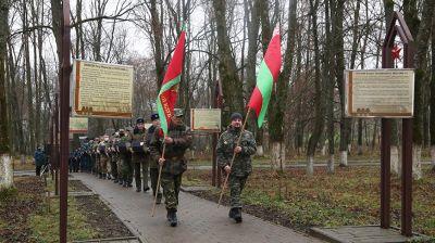 В Славгороде перезахоронили останки бойцов Красной армии