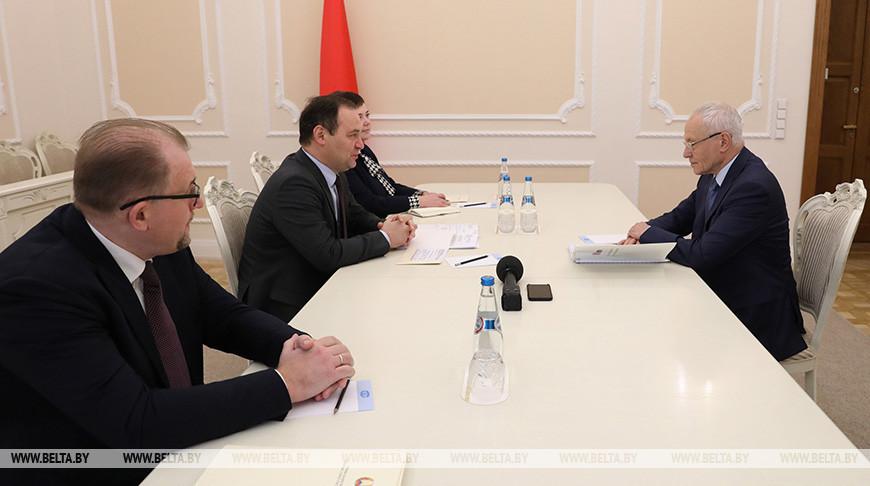 Головченко встретился с госсекретарем Союзного государства
