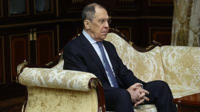 Лукашенко встретился с главой МИД России