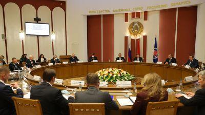 Совместное заседание коллегий МИД Беларуси и России проходит в Минске
