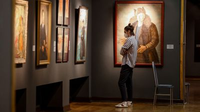 В Минске открылась выставка к 150-летию художника Фердинанда Рущица