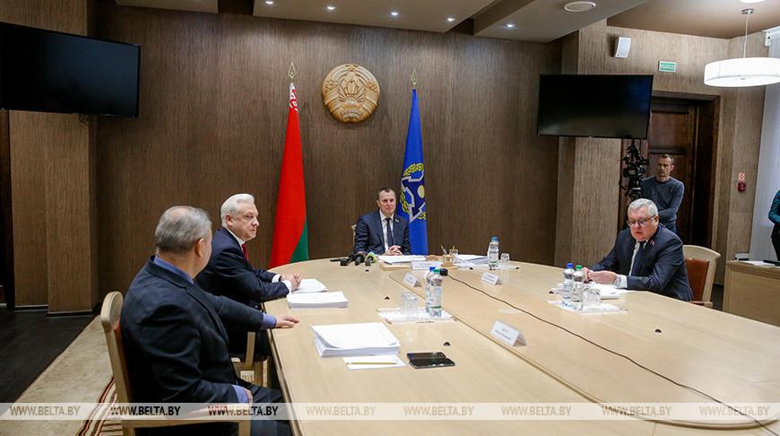 Заседание Парламентской ассамблеи ОДКБ состоялось в Минске