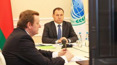 Головченко принял участие в заседании Совета глав правительств ШОС
