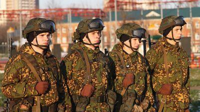 У витебских десантников начался новый учебный год
