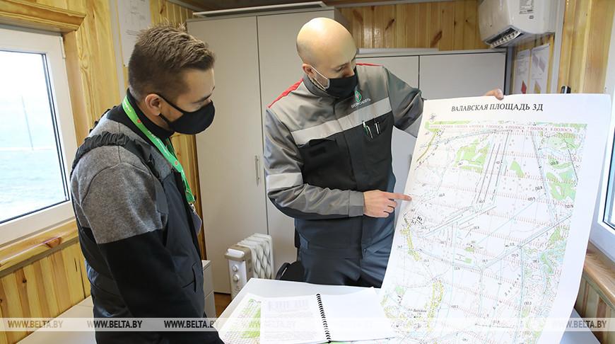 Белорусские нефтяники начали геологоразведку Южной зоны Припятского прогиба