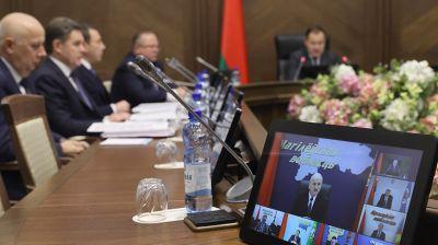Заседание Президиума Совета Министров прошло в Минске