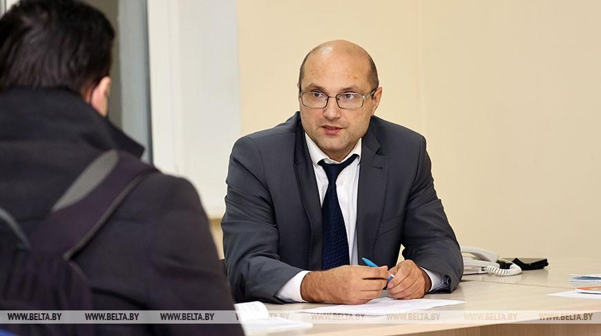 Общественная приемная работает в Витебске