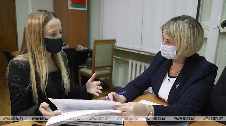 Общественная приемная работает в Могилевском облисполкоме