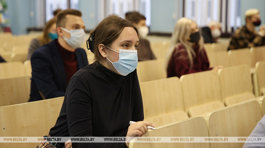 Кочанова встретилась со студентами журфака БГУ