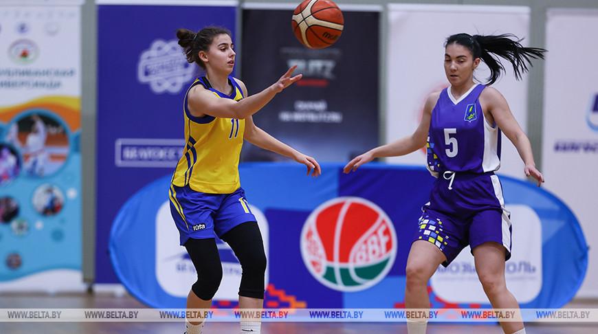 Баскетболистки БГПУ выиграли студенческую лигу по баскетболу