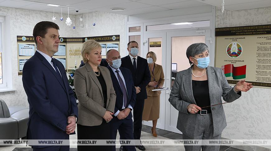 Единая городская служба занятости Минска открылась по ул.Берестянской