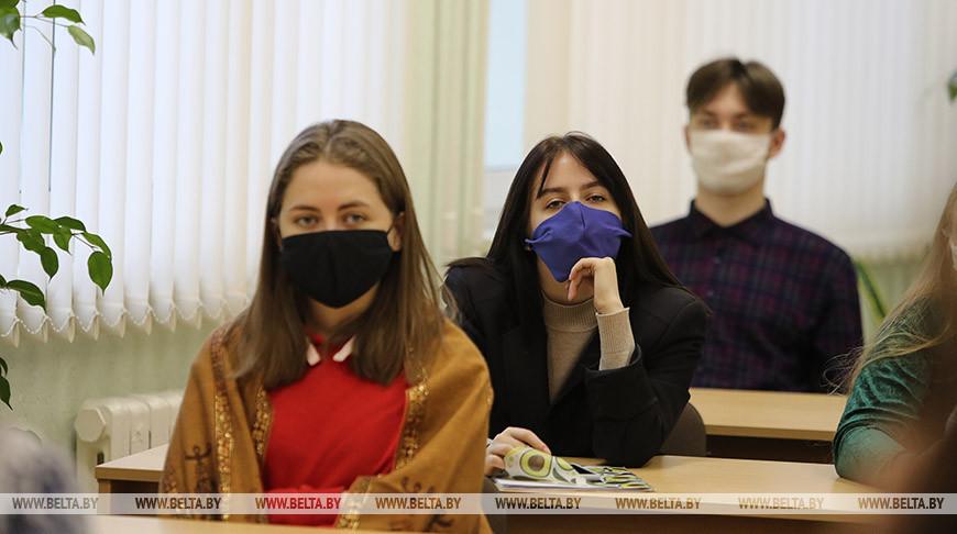 В Барановичском госуниверситете действует масочный режим