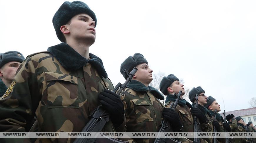 Принятие присяги состоялось в 188-й инженерной бригаде в Могилеве