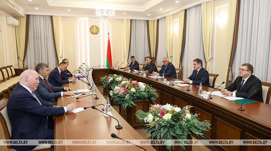 Петришенко встретился с министром науки и высшего образования России
