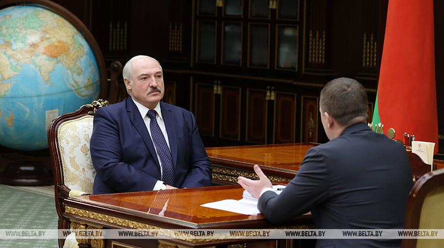 Лукашенко оценил экономические итоги Минской области