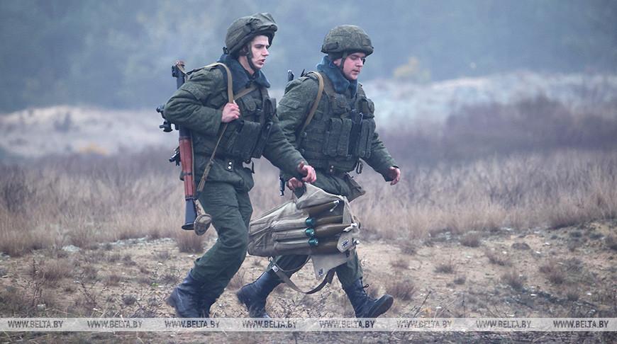 Личный состав 6-й мехбригады выполнил нормативы по вождению боевых машин и огневой подготовке