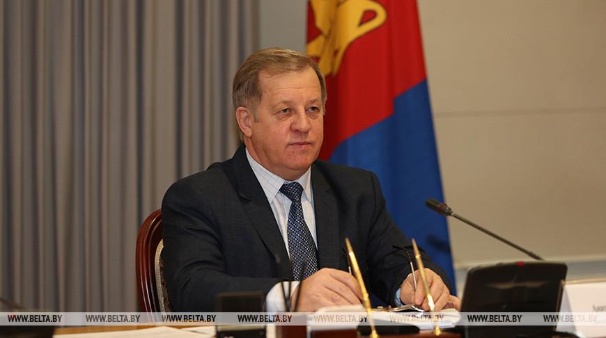 Заседание рабочей группы по сотрудничеству Беларуси и Иркутской области