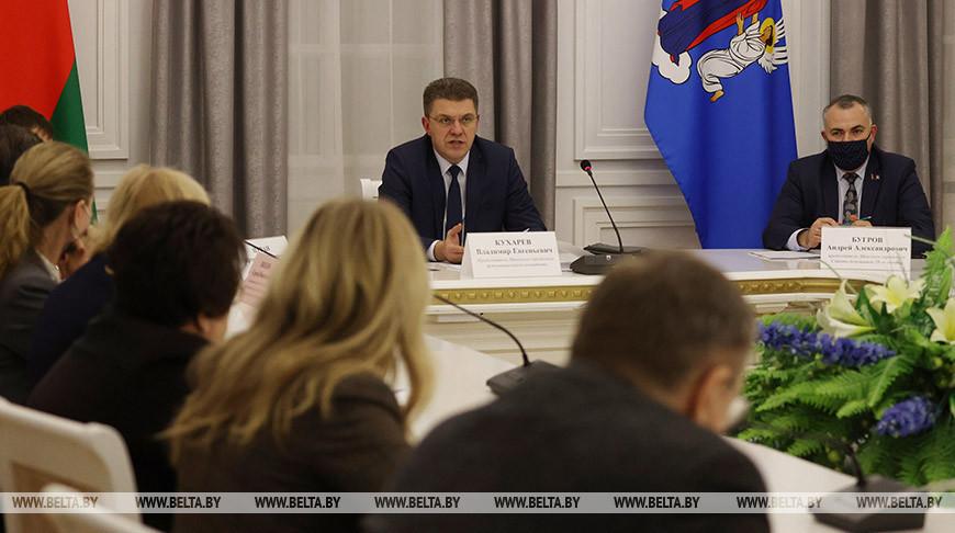 Кухарев встретился с депутатами Палаты представителей