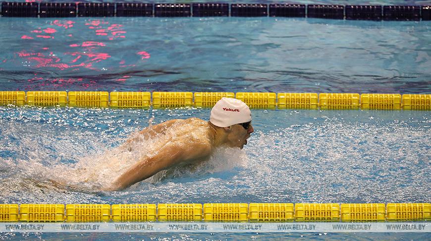 В Бресте проходит чемпионат Беларуси по плаванию на короткой воде