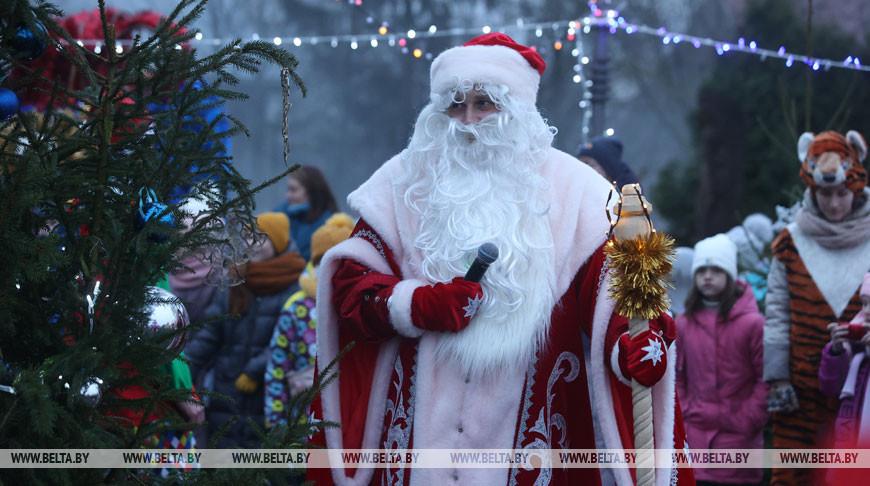 Дед Мороз поселился в Гродно