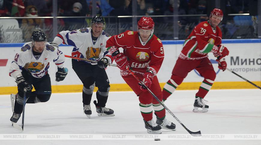 Хоккейная команда Президента обыграла могилевчан в матче любительского турнира