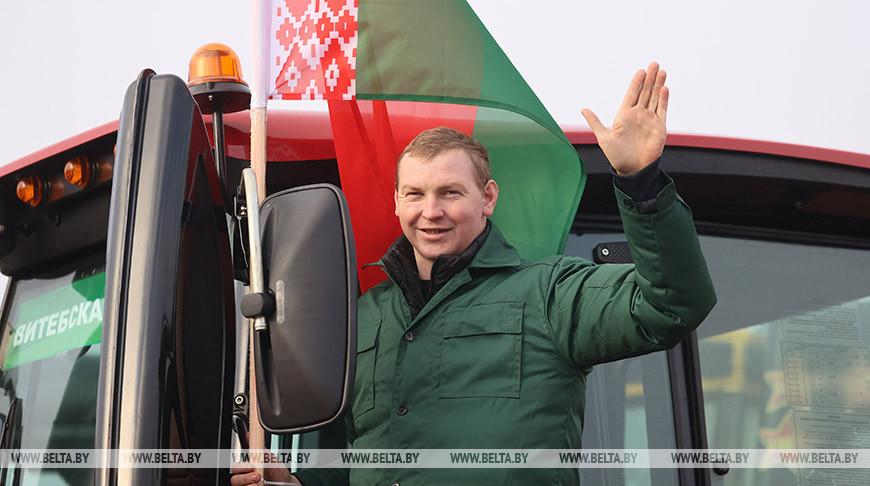 Витебская область принимает тракторы МТЗ