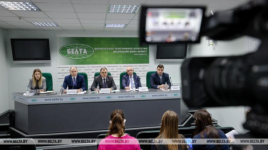 """Пресс-конференция по теме """"Приоритетные направления развития энергетической отрасли Беларуси"""" прошла в БЕЛТА"""