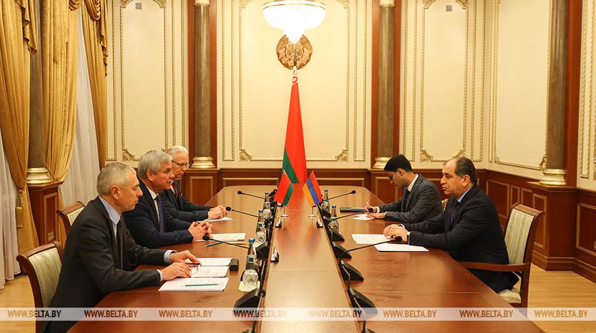 Андрейченко встретился с послом Армении