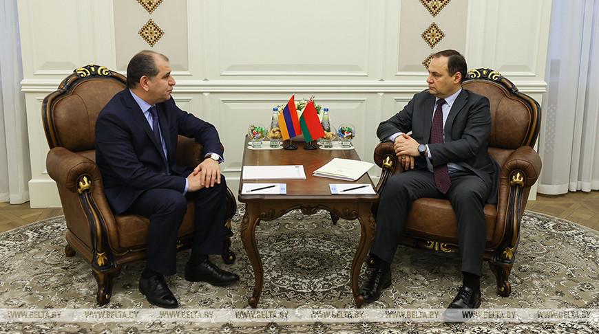 Головченко встретился с послом Армении