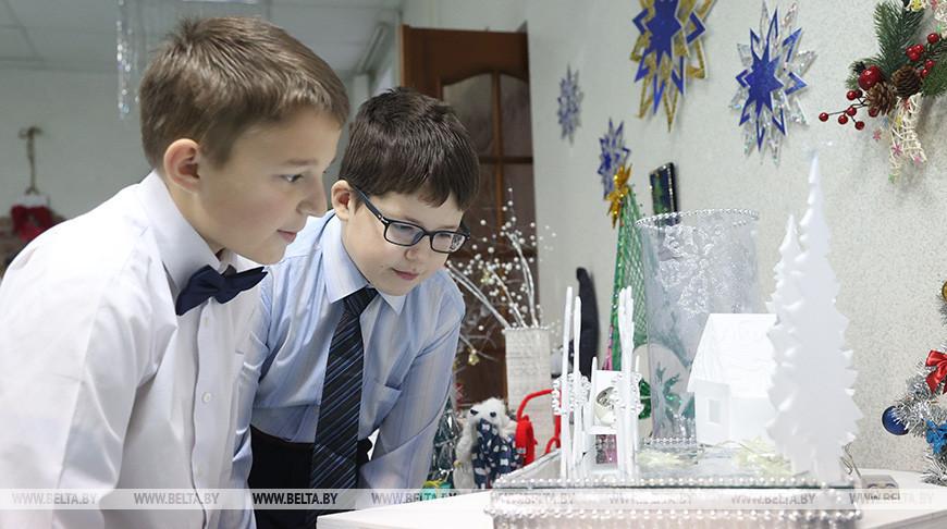 """Акция """"Наши дети"""" прошла в Шкловской школе-интернате"""