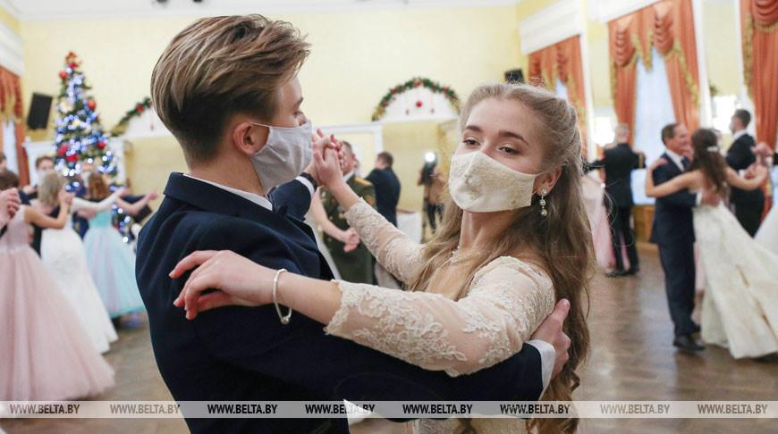 Новогодний бал одаренной молодежи прошел в Бресте