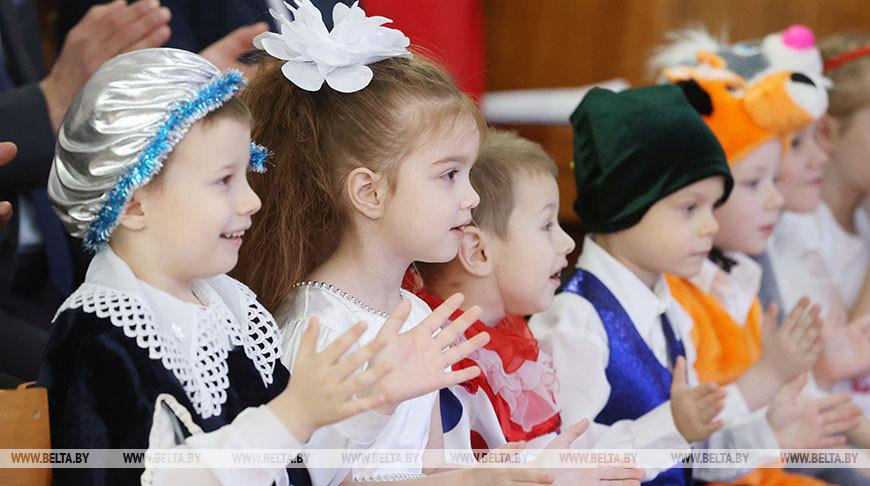 """Акция """"Наши дети"""" прошла в детском доме Витебска"""