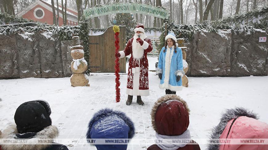 Гомельский дворцово-парковый ансамбль подготовил новогоднюю программу