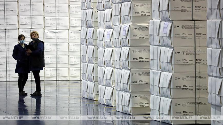 Первую партию вискозной целлюлозы произвели на Светлогорском ЦКК