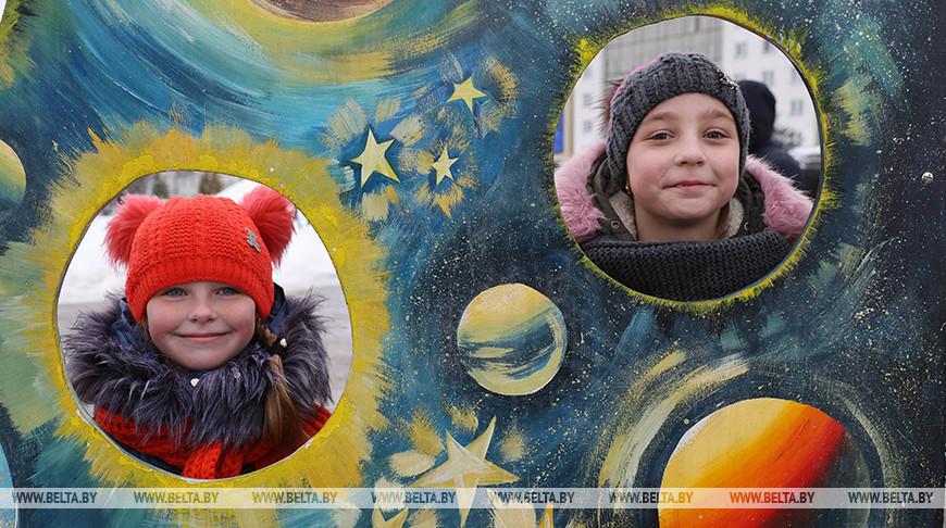 Культурно-спортивный праздник прошел в Витебске