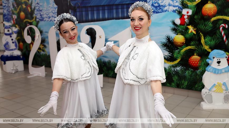 В Гомельском цирке прошел новогодний благотворительный праздник