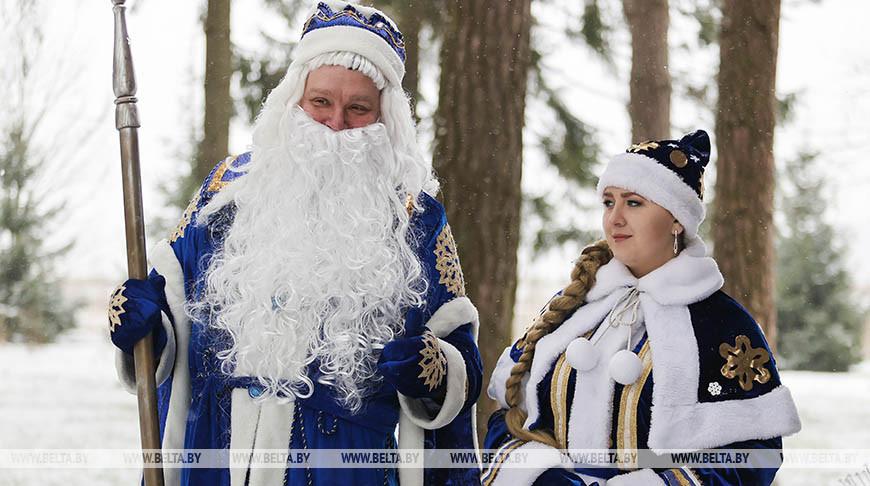 Придвинская резиденция Деда Мороза работает в Витебском районе