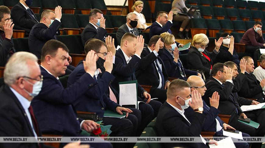 Состоялось заседании Брестского городского Совета депутатов