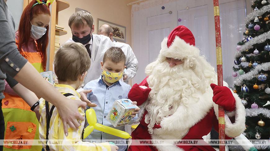 """Акция """"Наши дети"""" состоялась в онкологическом (гематологическом) отделении Могилевской областной детской больницы"""