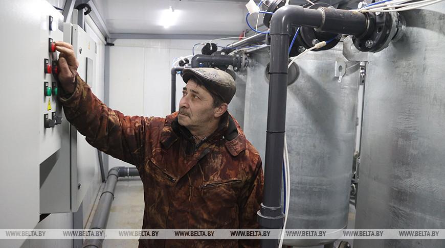 Станцию обезжелезивания воды открыли в агрогородке Кадино Могилевского района