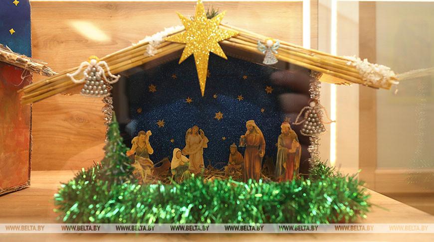 Выставку рождественских вертепов открыли в Бресте