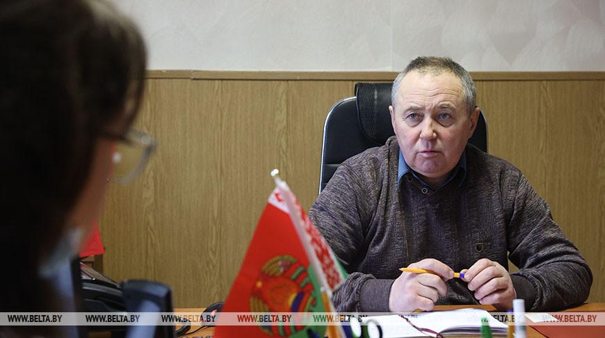 Александр Гордецкий - участник VI Всебелорусского народного собрания